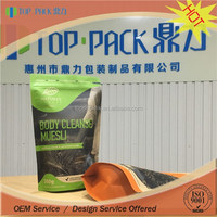 Factory price custom printed stand up laminated kraft paper wheat flour bags