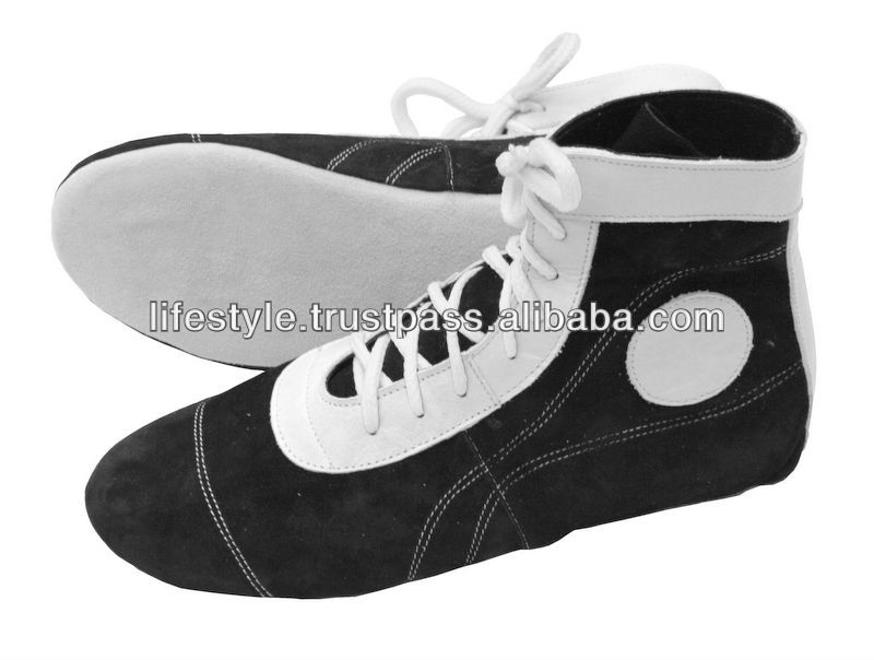 Leather Wrestling Shoes Pu Wrestling Shoes Wrestling Fighting Shoes Wrestling Sports Shoes Wrestling Boots