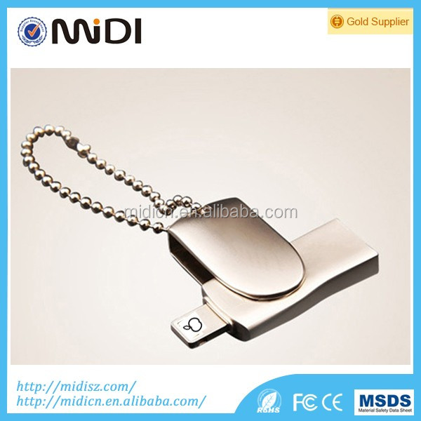 New design usb 2.0 OTG usb flash drive external storage memory usb stick pendrive 128GB pen drive