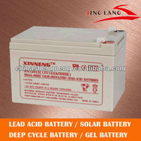top lead acid battery for UPS 12V 12AH