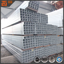 galvanized square hollow section tube size pre galvanized metal pipe hot dip gi rectangular hollow section in fence