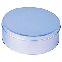 Professional Round Cosmetics Tin Can Wax Tin Box for candy/candle