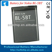 3.7V 870mAh BL-5BT Battery For Nokia 7510S N75 N76