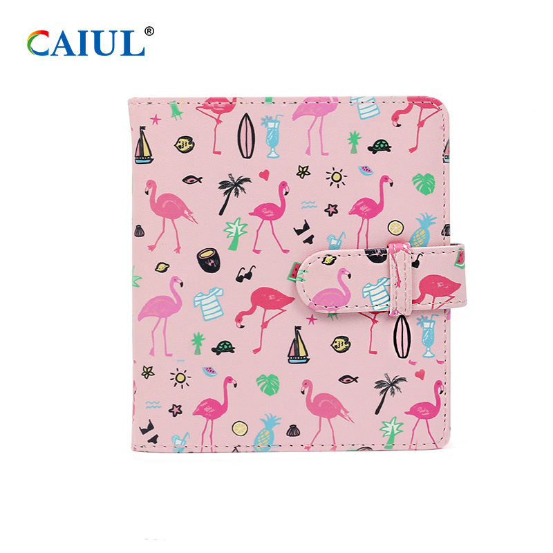 Pu Leather Cover Collecting Photo Album Perfect 64 Pockets