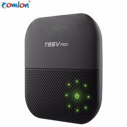 Factory Supply Android 6.0 tv box 4k T95V Pro Amlogic S912 Octa core 2GB 16GB 2.4G 5G WiFi global tv box