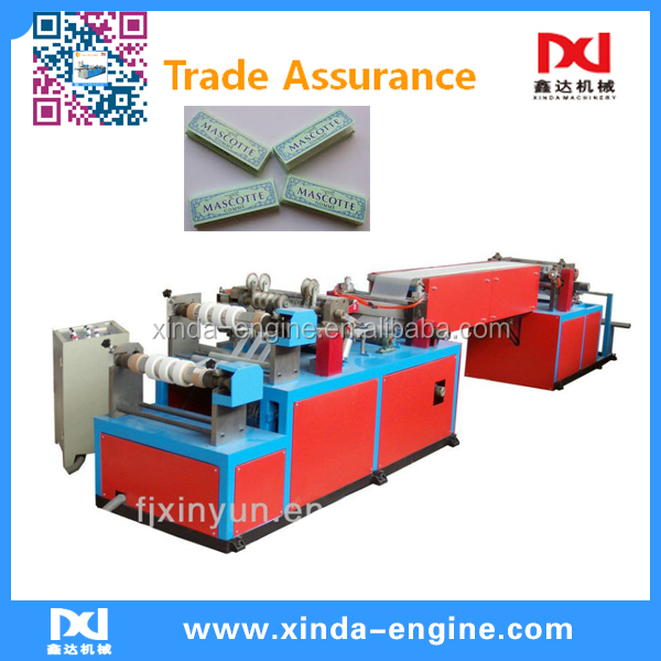 cutting embossing drawing cigarette paper machine price
