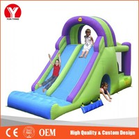 New Design jump house combo water slide