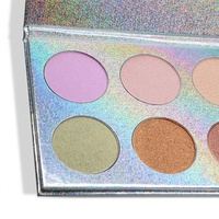 Multi colors private label supply highlighter palette makeup