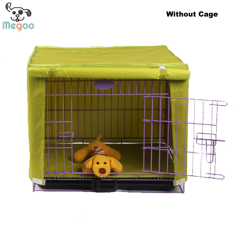 Waterproof Dog Cage Cover Detachable Puppy Crate Wear