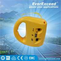 EverExceed economic solar light kits for home application