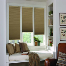 customized manual high quality home use blackout honeycomb blinds