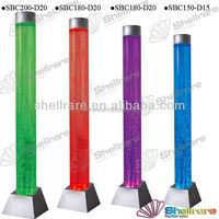 2015 Modern party&holiday decoration bubble cylinder and light column
