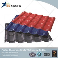 Monier villa roof tile and roof garden resin material panel