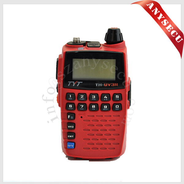 dual band two way radio RED TYT th-uv3r walki toki 136-174&400-480MHz walkie talkie full duplex