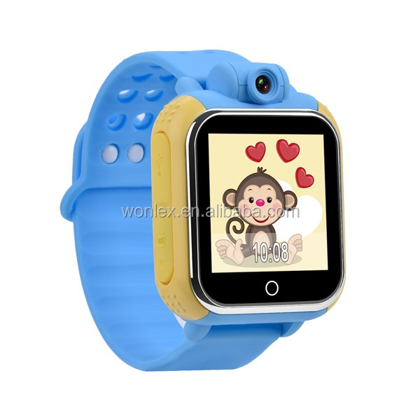 New OEM factory 3G 2100Mhz Wifi GPS Smart Watch GW1000 with camera support touch screen for kids