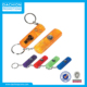 Customized Whistle Light and Compass Key Chain/key chain/silver key chains