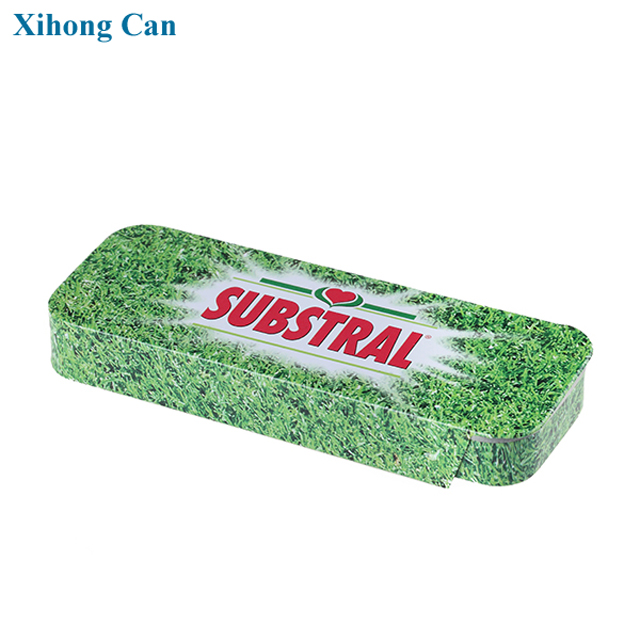 Popular nice design chewing gum tin box packaging
