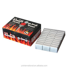 smokless charcoal silver charcoal coal for shisha
