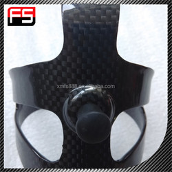Ultralight water bottle holder, OEM wholesale carbon bike bottle cage with 3k finish for sale