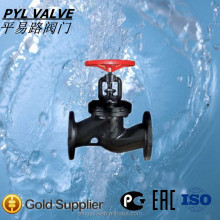 russia standard manual slide pn16 cast iron globe valve drawing