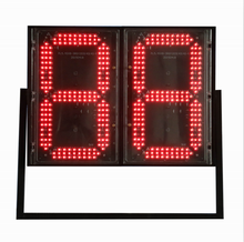 Fashion design made to order 2 digit numeric led display sky view led display for advertising