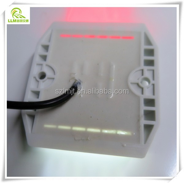 Best price IP68 waterproof 12pcs high brightness LED wired road stud