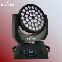 RGBWA+UV moving head wash light for stage light, china led moving head 36*18w light