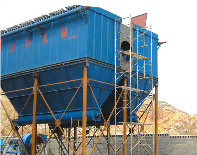 Factory Price Cement Pulse bag filter dust collector/dust remove system with rotary valve