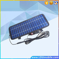 BEST 4.5W 12V Car Solar Charger Car Battery Power Charger Panel Battery Charger for Car Boat Motorcycle Vehicle Blue