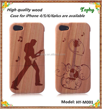 Hot Selling For iPhone 4 Custom Wood Phone Cases, Wooden Case For iphone4