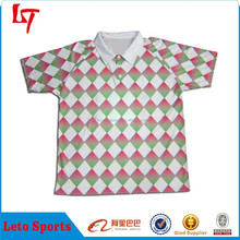 High Quality Custom Design Polo men Clothes / Wholesale Cheap Women Polo Shirt /Fashion Yarn Dyed Ladies' Stripe Polo T-Shirt
