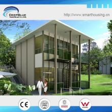 American style of prefabricated light steel structure housing and villa