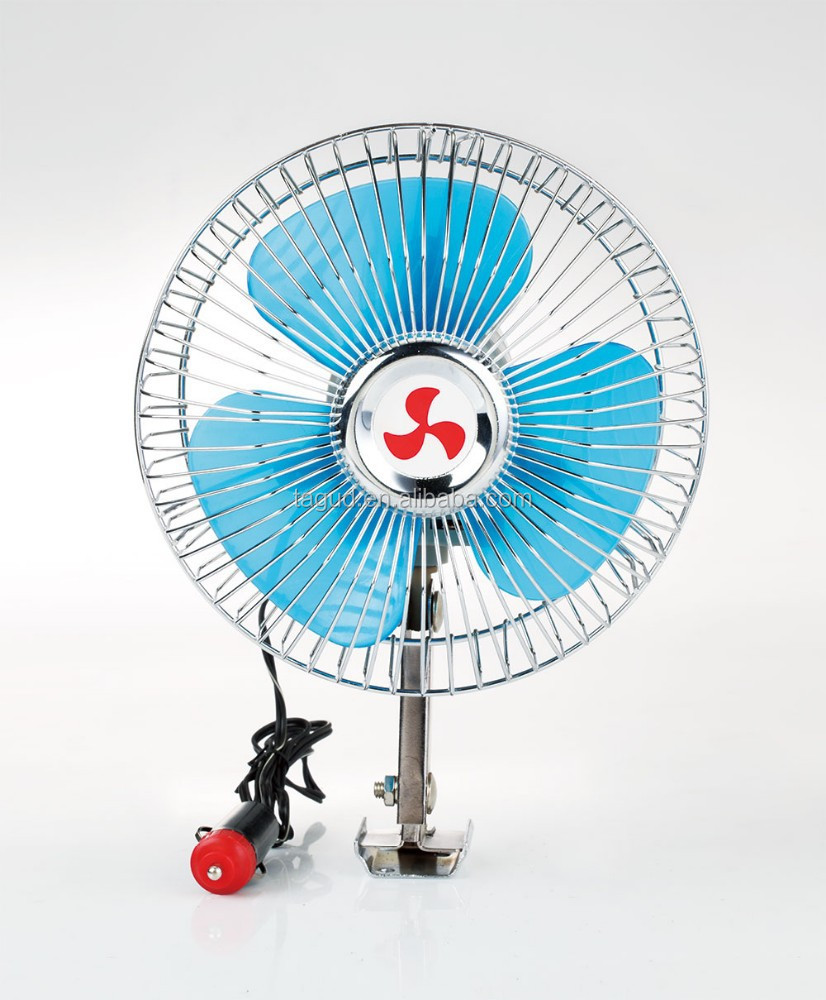 6'' semi-seal car fan