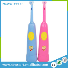 2016 high quality battery operated electric toothbrush children musical toothbrush