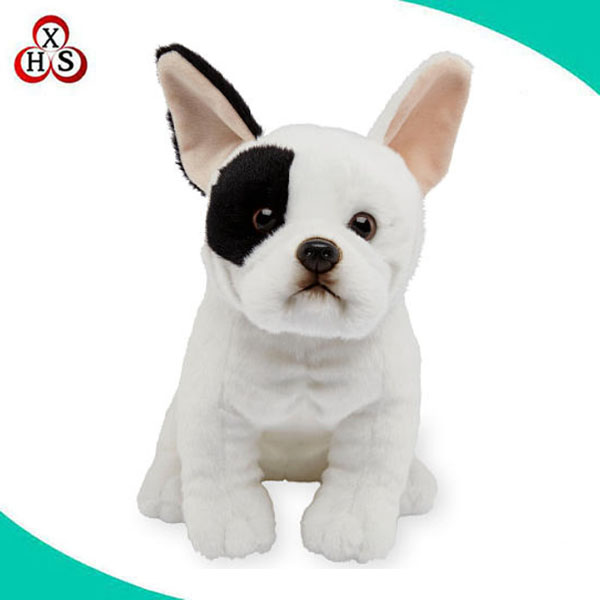 high quality plush French bulldog stuffed toys