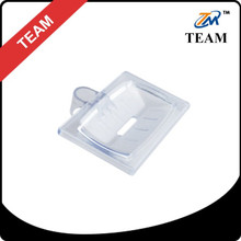 TM-6047 ABS PLASTIC transparent clear Bathroom accessories Soap dish