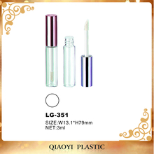 Plastic Liquid Lipstick Tube Lip Gloss Packaging Containers