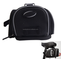 Bike Bicycle Cycling Bag Riding Pannier Saddle Seat Rear Tail Bag Pouch Black