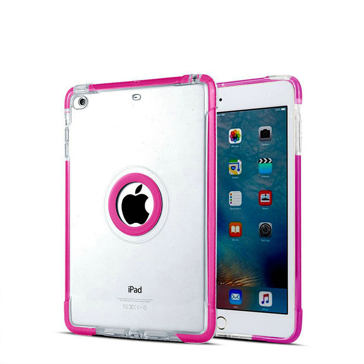 Shockproof Hybrid TPU + PC Armor one Case For iPad mini 2