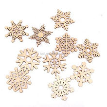 festvial decoration unfinished laser cut wood christmas ornament