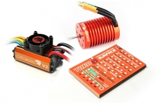 1/10 car Skyrc Leopard 3930KV/10T/2P Brushless Motor + 60A ESC + Program Card Combo Set
