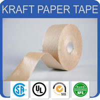 China reliable manufacturer non adhesive kraft paper tape water proof