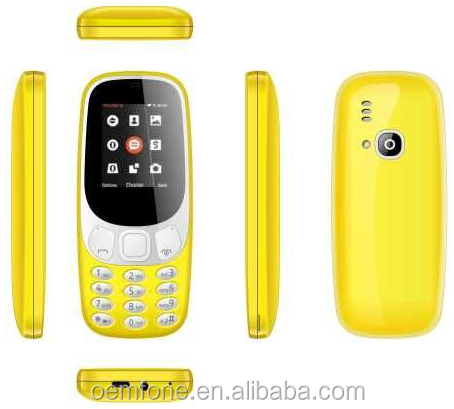 new and hot sale fashion mobile phone with 1.8 inch screen