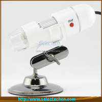 New Design 2.0M 500x microscope illuminator with lcd screen With Measure tools and 8 LED lights SE-DM-500X