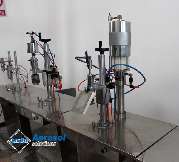 gas filling machine