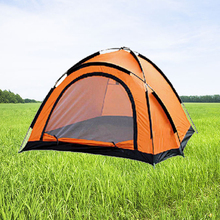 Outdoor Folding Bed Camping Tent,used waterproof 3-4 person camping tent for sale,Mini Camping Tent