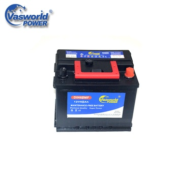 High Quality Sealed MF Car Batteries Made In Korea 12v68ah Car Battery Wholesale