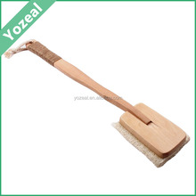 Natural long hanle loofah back and body scrub scrubber