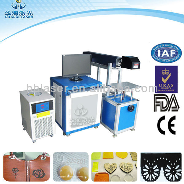 laser crafts cutting machine paper, wood,rubber, leather, plastic material laser marking
