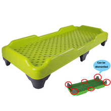 school children plastic cot bed wholesale daycare furniture for sale